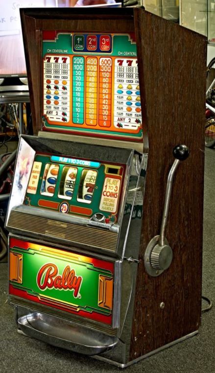nostalgic slot addition in games room
