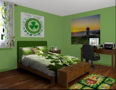 revamped rooms for the Irish guests